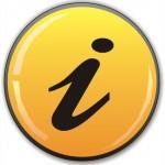 Button mit i für Info